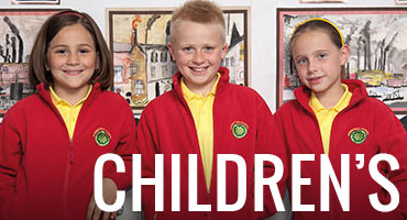 Children's printed clothing, school and leisure wear