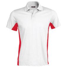 Flag polo shirt