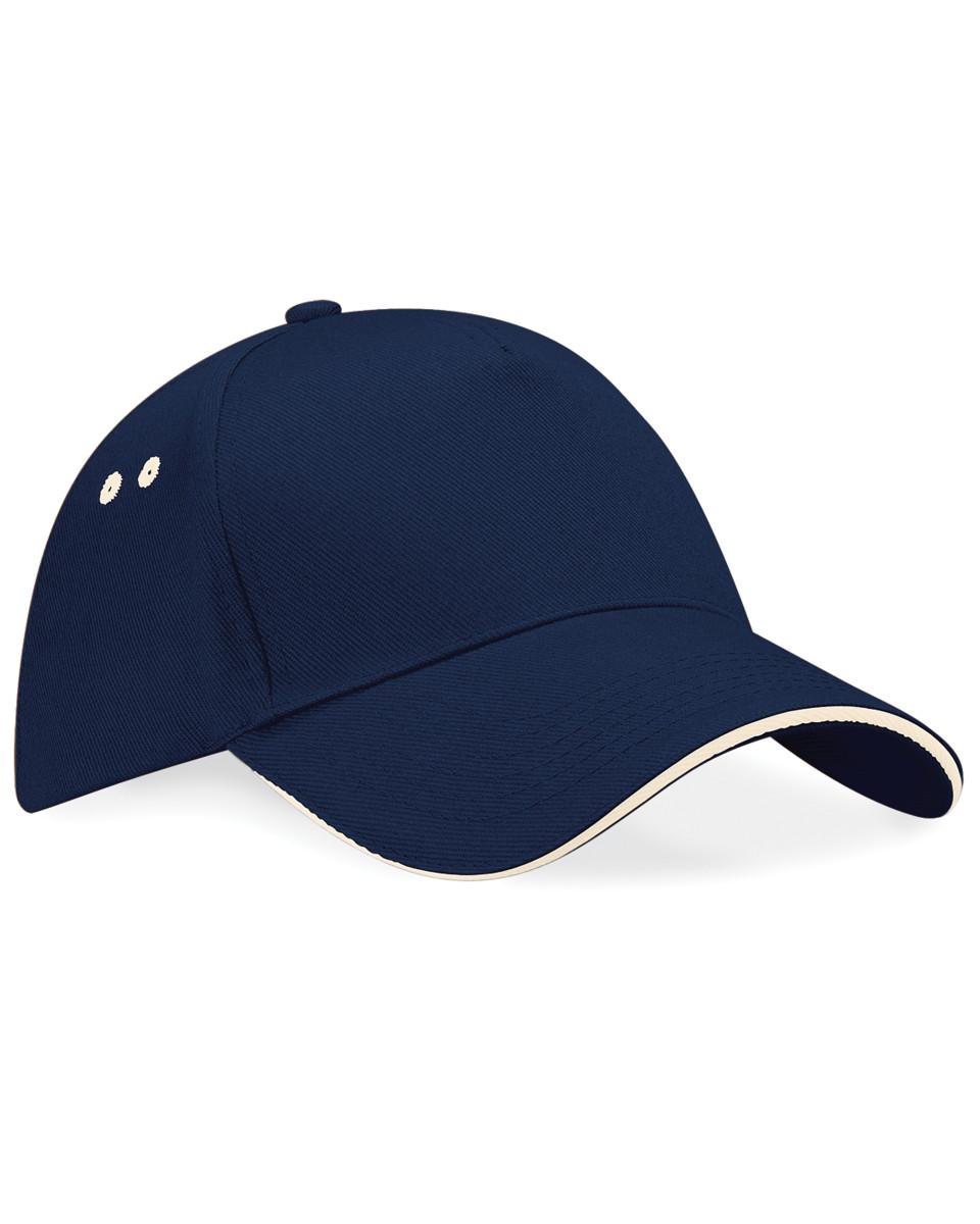 5fca8b19 Beechfield Ultimte Sandwich Peak Cap (B15C) - LA Clothing Solutions