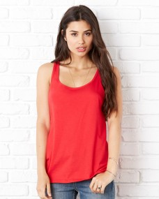 Bella Womens Relaxed Jersey Tank