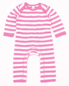 Babybugz Stripy Rompasuit