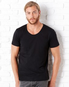 Canvas Mens Wide Neck Tee