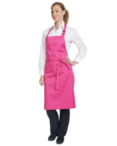 Denny's Multicoloured Bib Apron 28x36