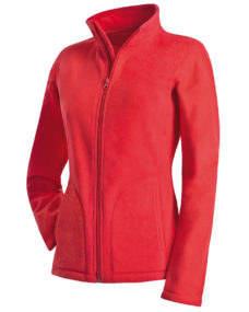 Active Womens Fleece Jacket