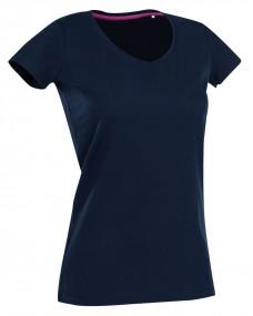Stars Claire Ladies V Neck T-Shirt