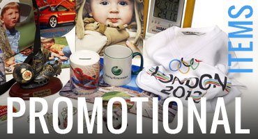 Printed and branded short-run promotional items